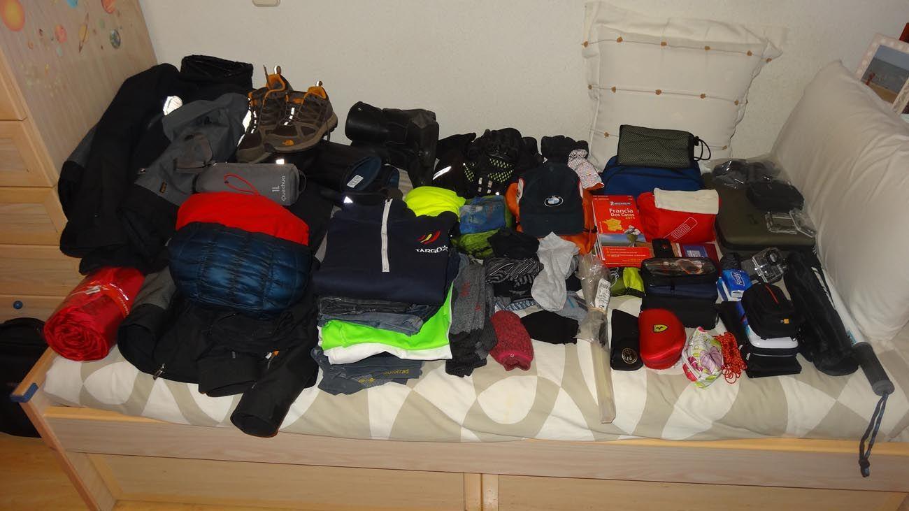 preparativos para ir a Cabo Norte